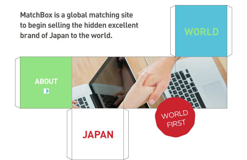 MarchBox is a global matching site to begin selling the hidden excellent brand of Japan to the world. WORLD JAPAN WORLD FIRST