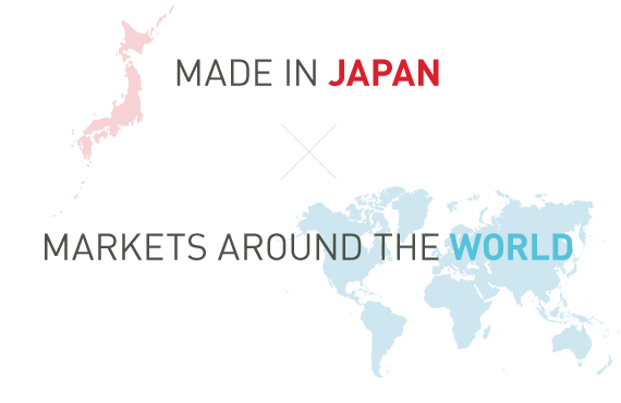 MADE IN JAPAN X MARKETS AROUND THE WORLD